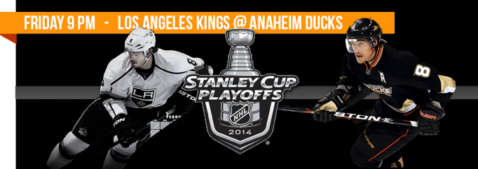 Los Angeles Kings @ Anaheim Ducks - Find my bar!