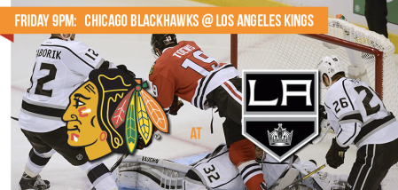 Chicago Blackhawks at Los Angeles Kings