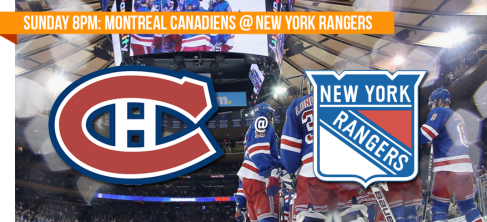 Canadiens @ Rangers