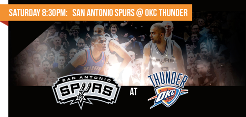 San Antonio Spurs at OKC Thunder